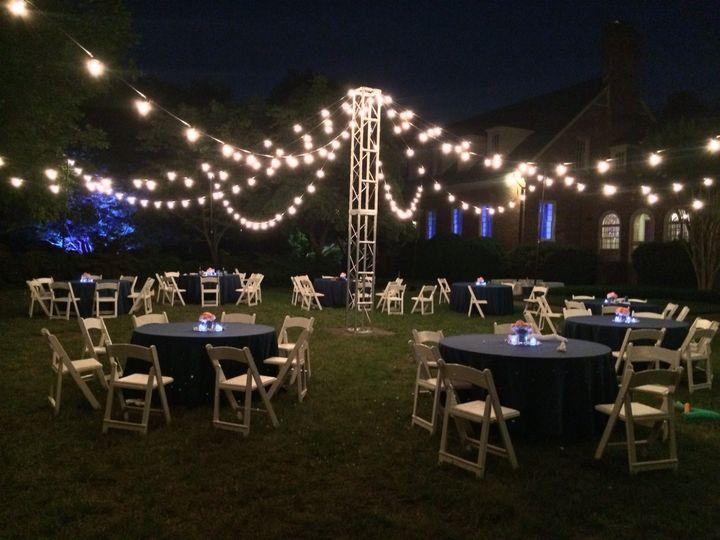 Tmx 1414505664367 Bistrolightswithcentertruss Richmond wedding dj