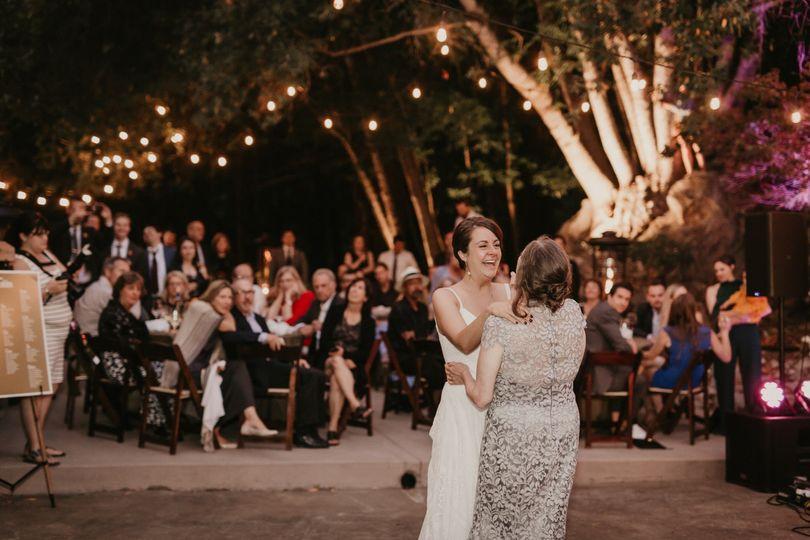 Mother-daughter dance