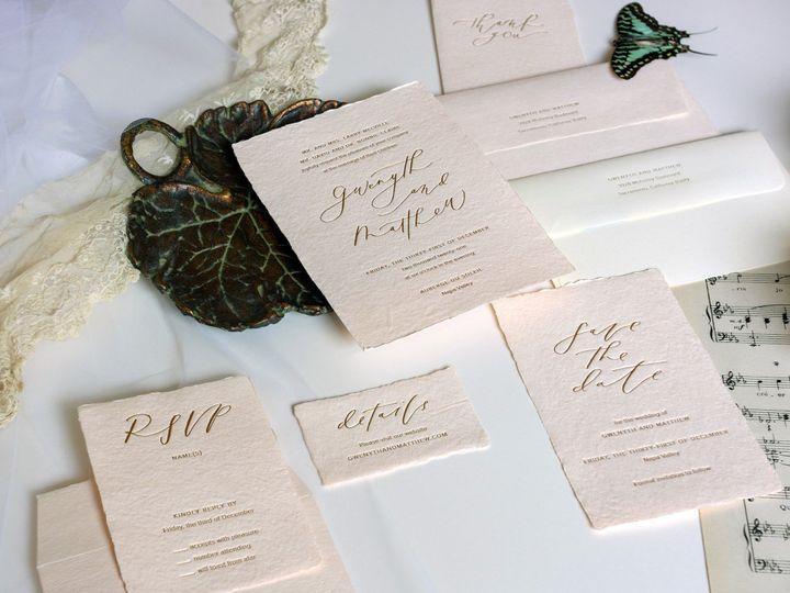 Tmx Gwenyth Detail Smaller 51 162789 1569973271 Portland, OR wedding invitation