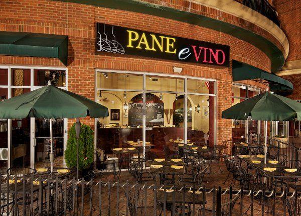 Exterior view of Pane e Vino Ristorante