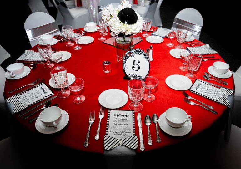 Table number 5