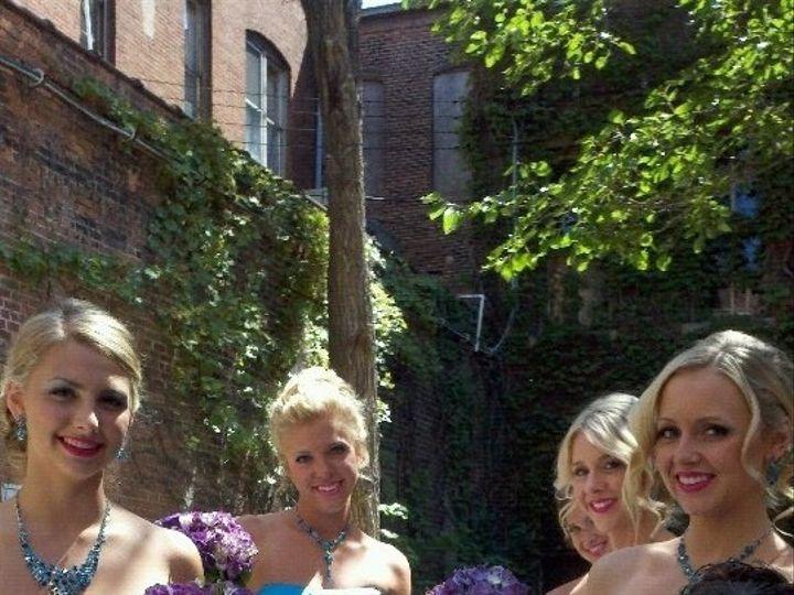 Tmx 1444342573536 Purple And Teal Bridesmaids Muscatine wedding florist