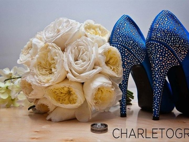 Tmx 1444342584325 White David Austin Blingy Blue Shoes Muscatine wedding florist