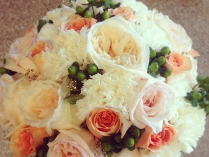 Tmx 1382377917309 Peach And Green Freehold, New Jersey wedding florist