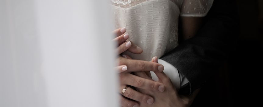 Hands entwined