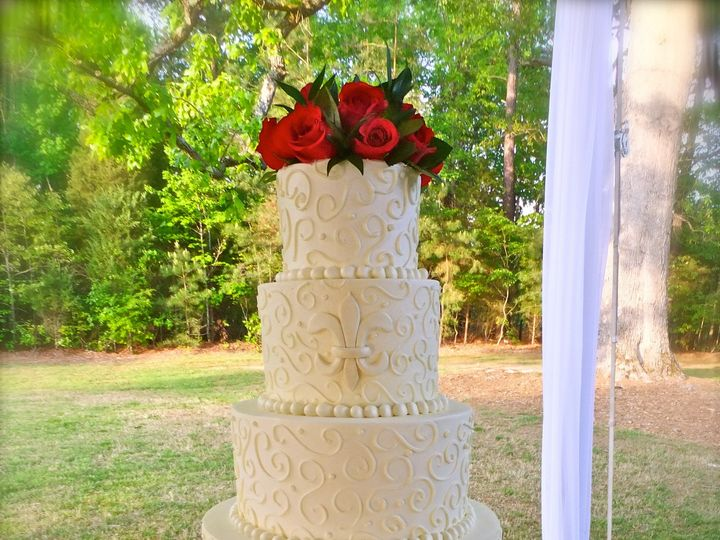 Tmx 1426257525323 Dscf0383 Cary, North Carolina wedding cake