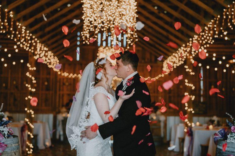 The Barn at Oakboro wedding