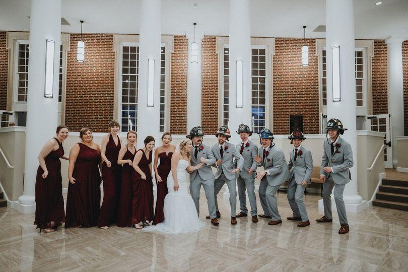 Belk Chapel wedding