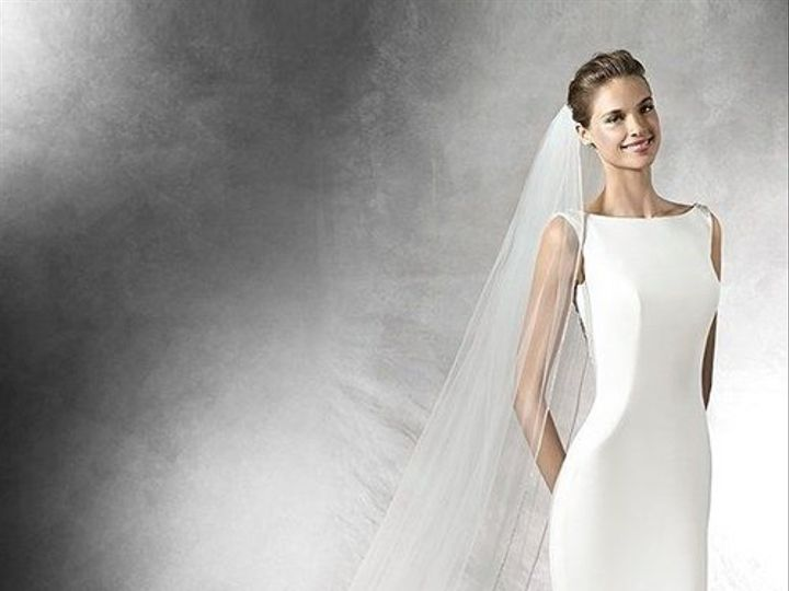 Tmx Pronoviastatianalowbackbeadedcrepeweddingdress 51 935789 New York, NY wedding dress