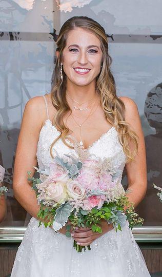 Stunning bridal glow
