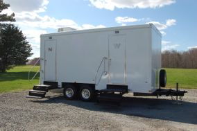 eros luxury restroom trailers