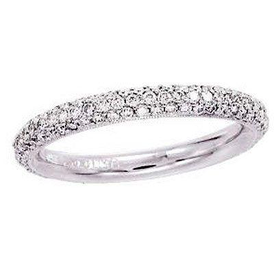 Tmx 1342560504469 Bandmicropaveband San Diego wedding jewelry