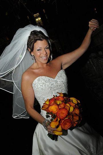 Happt bride