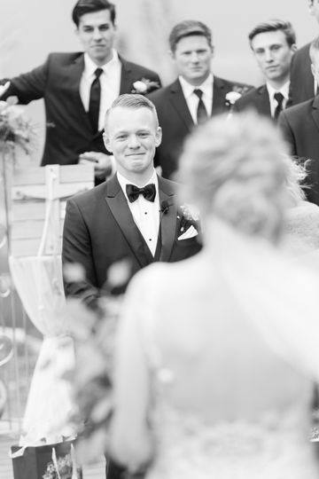 Here Comes His Bride