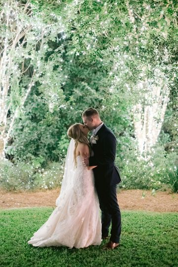 A kiss in the gardens