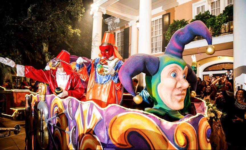 Mardi Gras Parade Enhancement