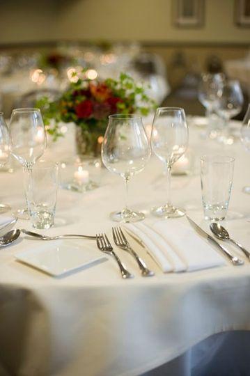 Tight shot - Banquet Wedding Table