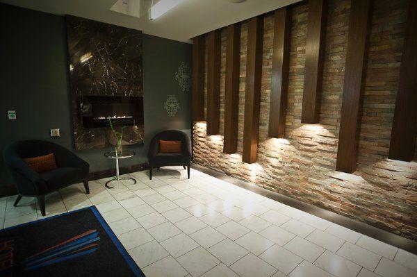 Hotel Fifty Lobby Entrance / Fireplace