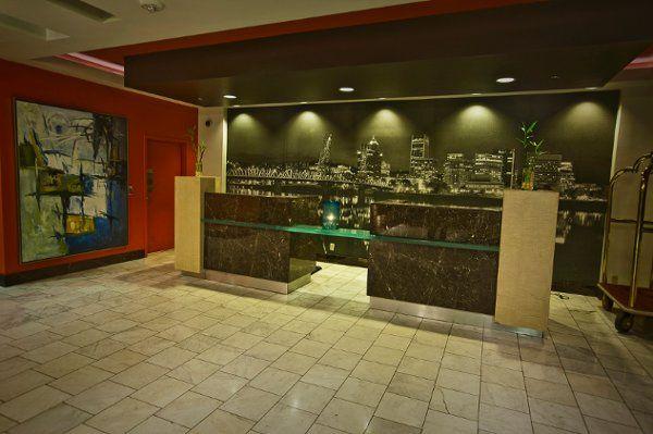 Hotel Fifty Reception Desk