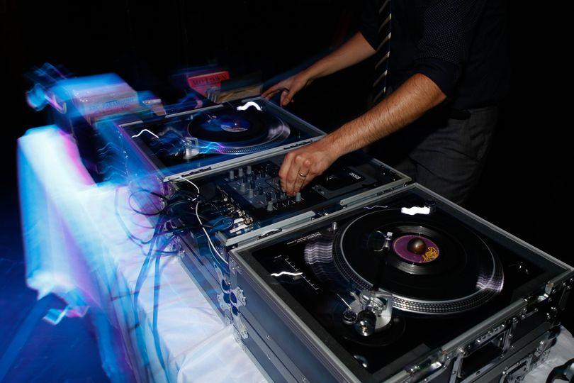 Dj's ,mixer - Photo by Brian Rozman