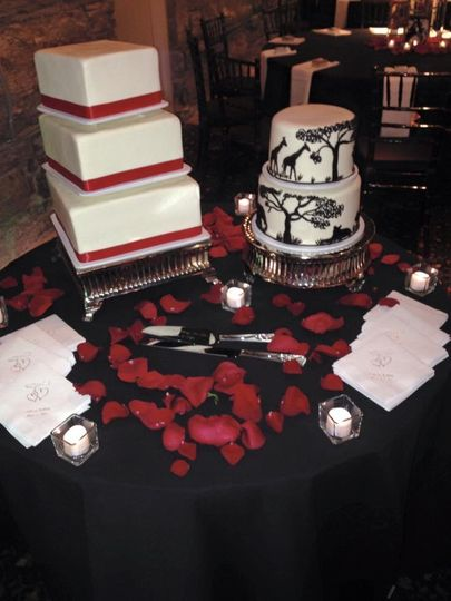 Wedding & Groom Cake