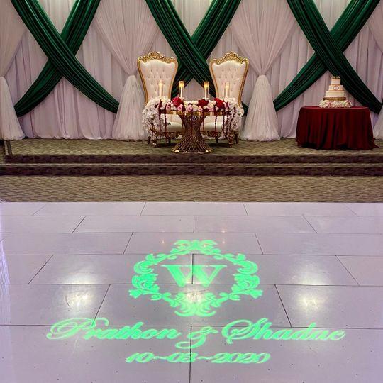 Stunning sweetheart table