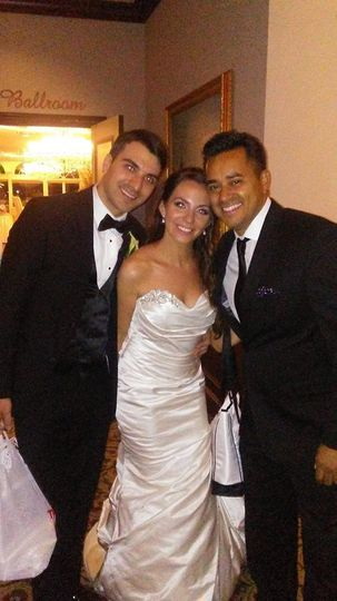 Newlyweds and DJ