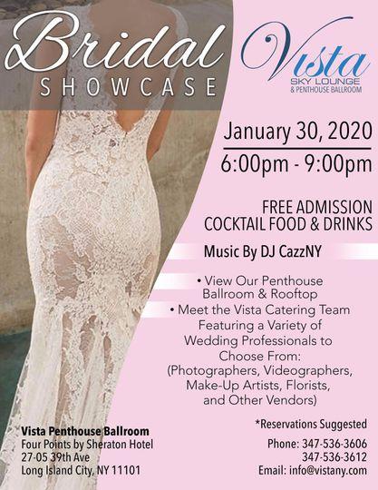 Bridal show case!