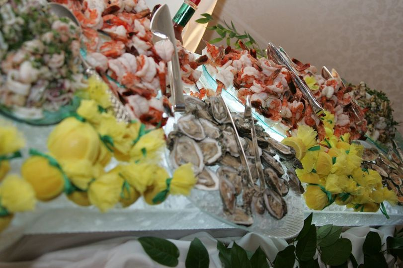 Seafood display