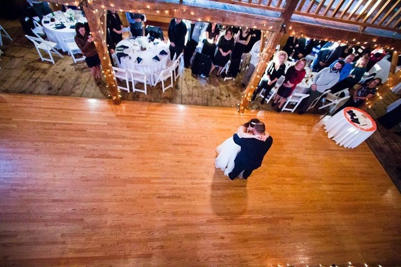 ruiz wedding first dance aerial