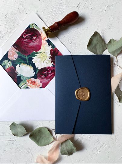 Wax Seal and Envelope Liner