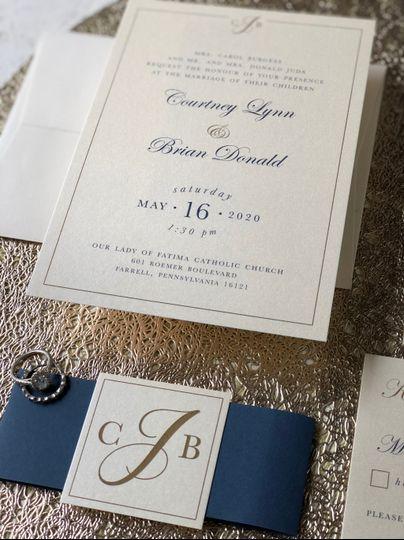 Elegant Gold Details