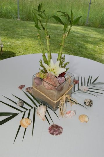 Christin and Ryan's Wedding ~ Centerpiece (July 2011)
