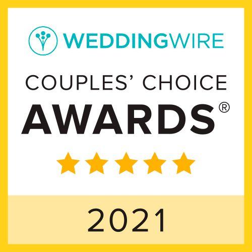 2021 Couples' Choice Award!