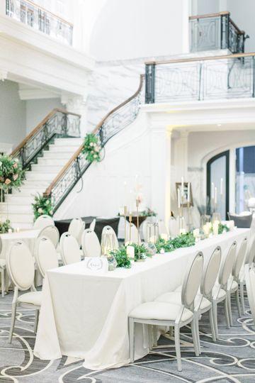 Beautiful Reception Seating