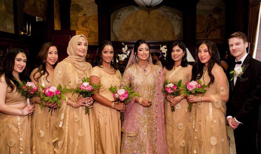 Bridemaid's bouquet