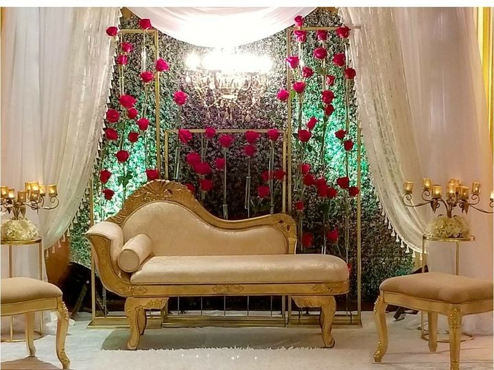 Tmx 1511890551835 Flower Backdrop20170813110651 Silver Spring, MD wedding eventproduction