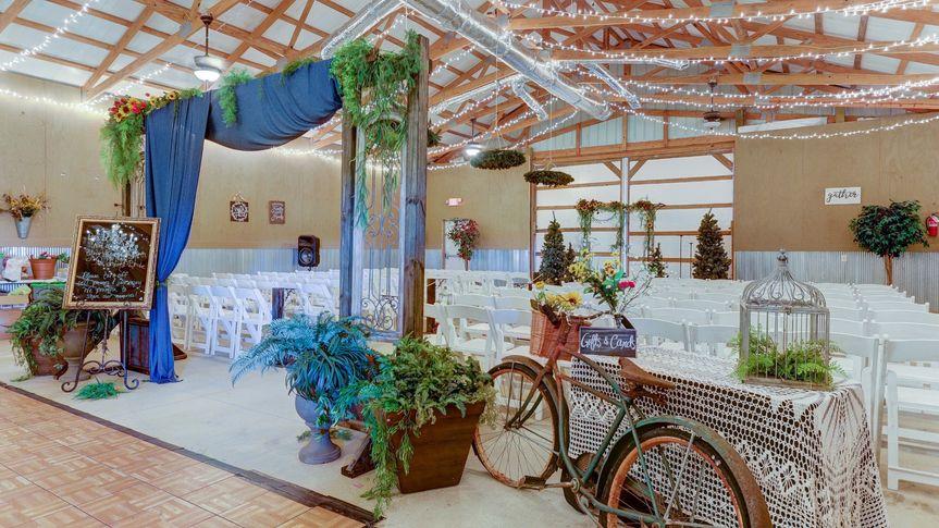 Wedding Vows set up
