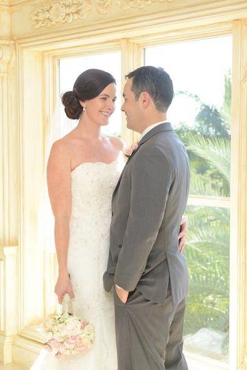 Cayman Islands wedding  Hair styled by Jeannie Bride/Groom