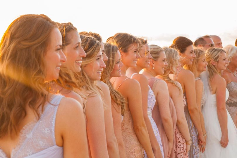 Bridal party - The Bliss Creative