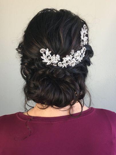 Elegant updos   Hair by Ashley