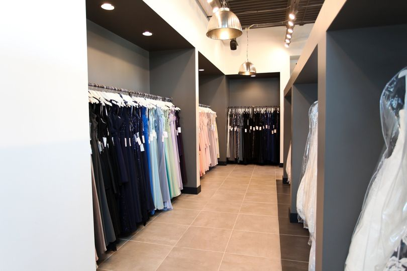 The Dress Shop interior