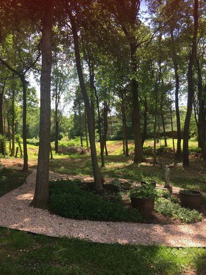 The Garden Wedding site