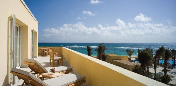 Amazing Ocean View from presidential suite at the Westin St.Maarten