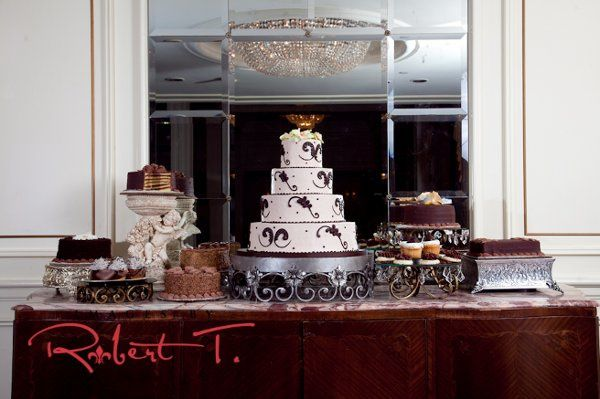 The Chocolate lover's Wedding . From chocolate doberge to chocolate petit fours and every chocolate...