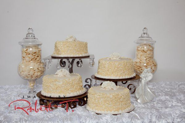 White Chocolate Wedding Our famous doberge cakes in four different flavors, strawberry, chocolate,...