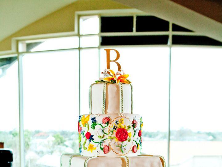 Tmx 1440260693464 Bright Flowers Cake 1 Metairie wedding cake