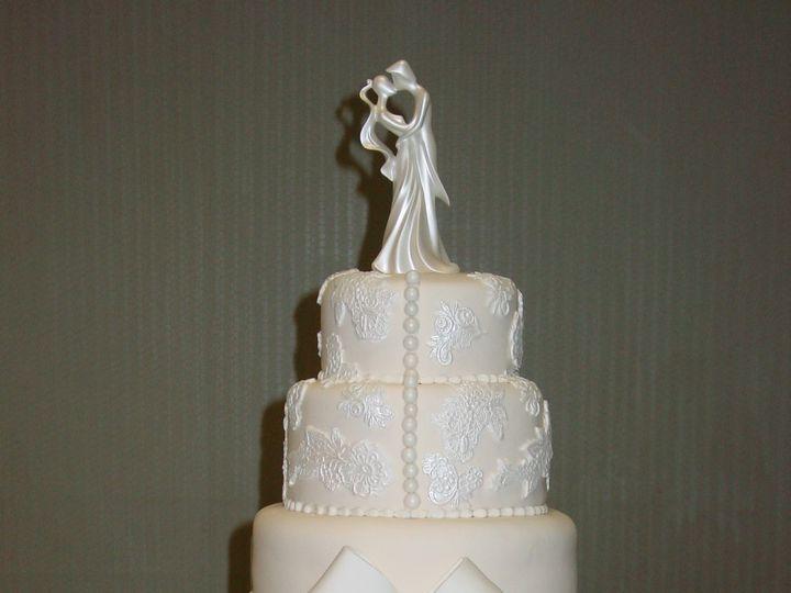 Tmx 1440261138584 Laurel Wedding Cake Metairie wedding cake