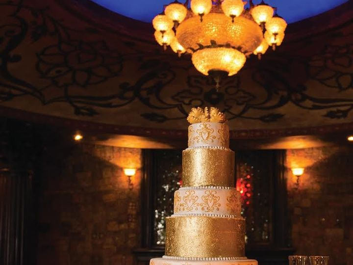 Tmx 1440262100437 Golden Dust Wedding Cake Metairie wedding cake