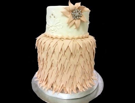 Tmx 1440262779486 Daytona Metairie wedding cake